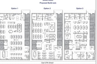 Midtwon South floor plan options