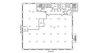 154 W14st 12th flloor plan