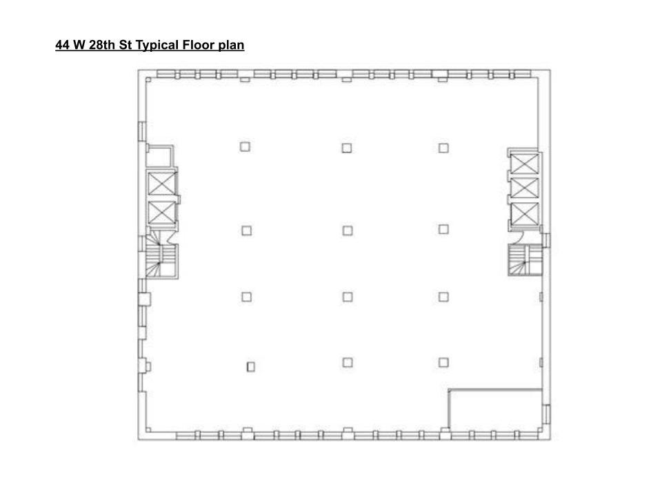 44 W 28th St Floor Plan