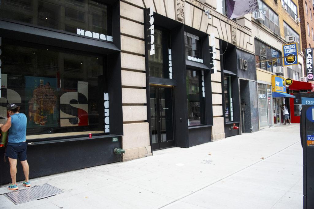 119 West 23rd façade angled