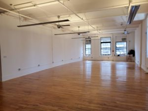 119 w 23rd street suite 801 interior, hardwood floors, windows, natural light