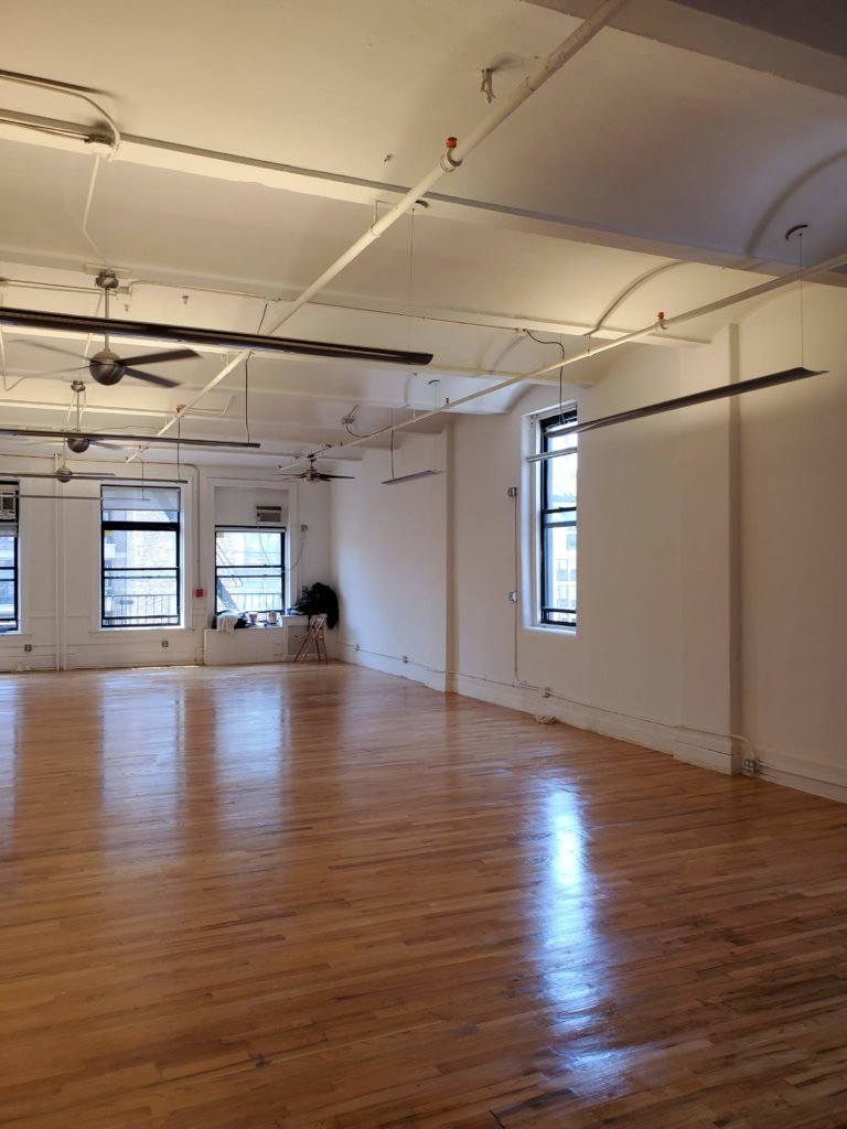 119 w 23rd street suite 801 interior, hard wood floors, windows