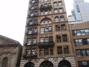 119 w 23rd street façade