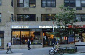 Dramatics 2nd avenue façade