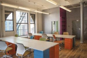 119 West 23rd street suite 610 interior, fire escape