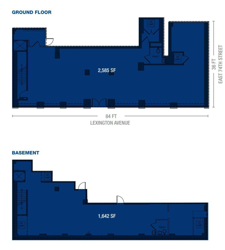 1033 Lexington Avenue floorplan