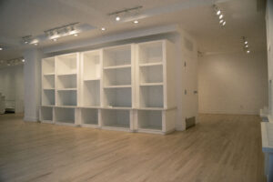 1033 Lexington avenue right side of store, wall storage