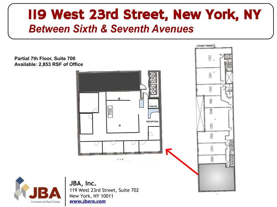 119 W 23rd St Suite 700 FP